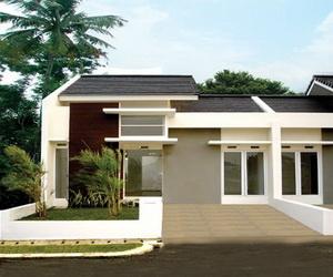 desain rumah minimalis modern 1 lantai terbaru model