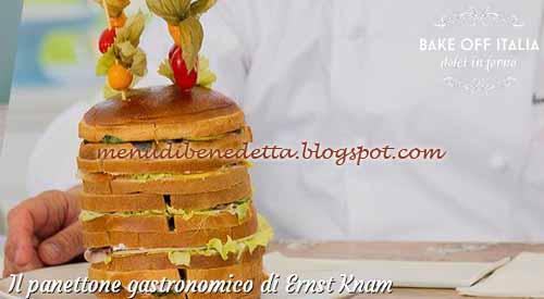 Panettone gastronomico ricetta Bake Off Italia 2