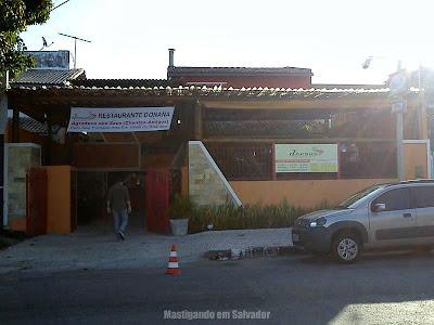 Donana Restaurante: Fachada da unidade de Villas