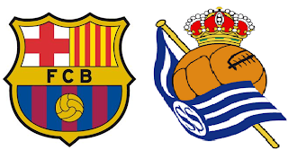 Barcelona vs Real Sociedad La Liga