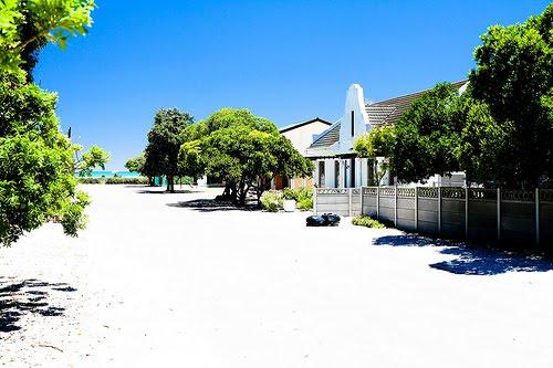 Strandhäuser am Westkap in Südafrika