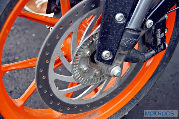 KTM 390 Duke India road test review 29