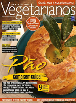 CHEGOU A EDIÇÃO DE MAIO DA REVISTA VEGETARIANOS!