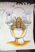 Pollutopia (Dreamer)Anxiety (Gool)Coloured Pencil/Watercolour