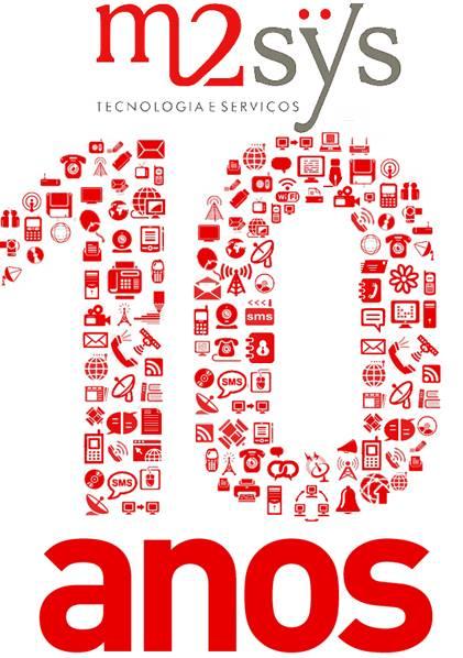M2sys Tecnologia 10 Anos
