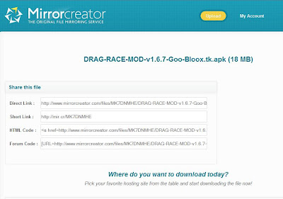 How to Download From MirrorCreator