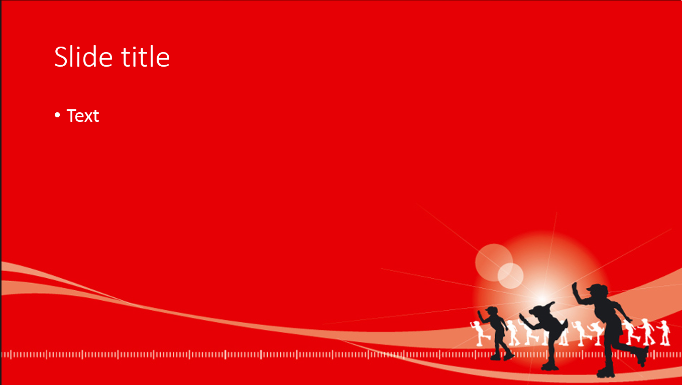 cocacola powerpoint template ~ all-free-templates, Modern powerpoint