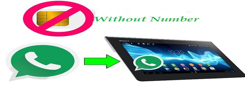How to use whatsapp without mobile number step by step tutorial
