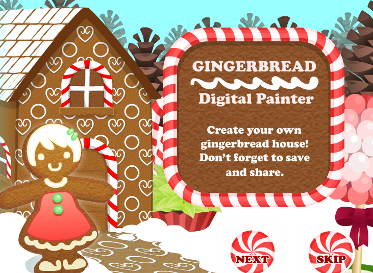 Los rosales in english have a sweet christmas Make your own gingerbread house online