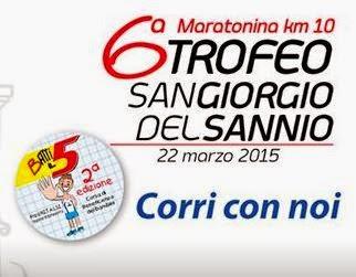 CLASSIFICA Trofeo San Giorgio del Sannio 2015