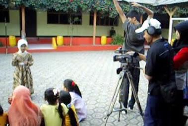 suasana syuting MQTV