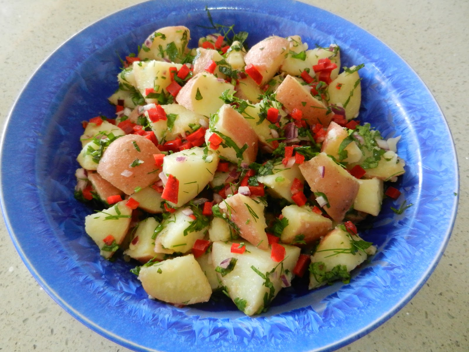 Living on Pulse: Fresh Herb Potato Salad