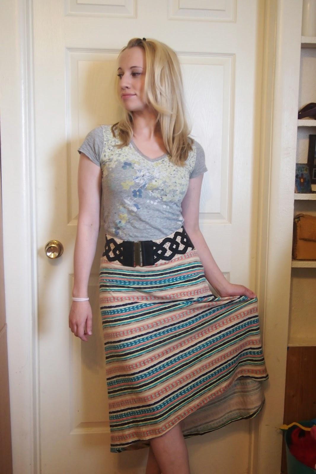 hi+lo+organic+skirt - Green Smoothie Recipe & Video Tutorial