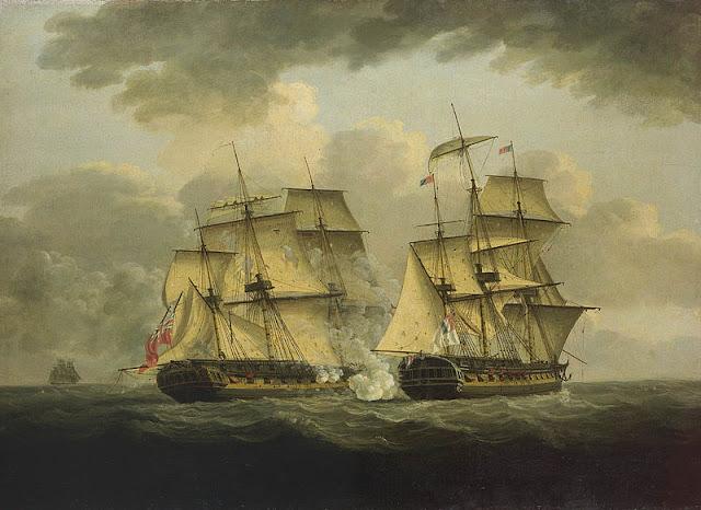 Gambar Kapal Layar Fegate Lukisan