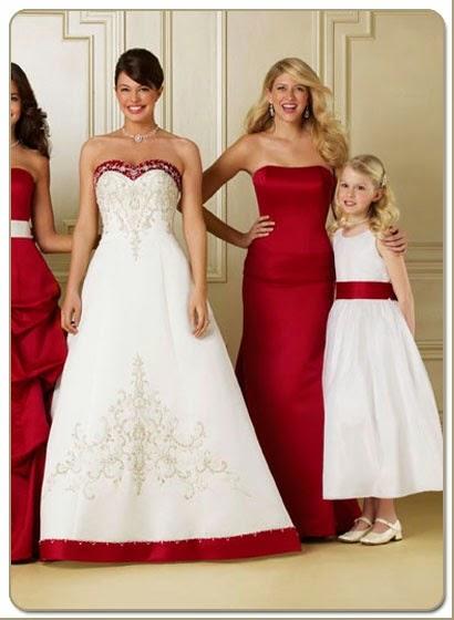 Tendência  moda vermelho em casamentos