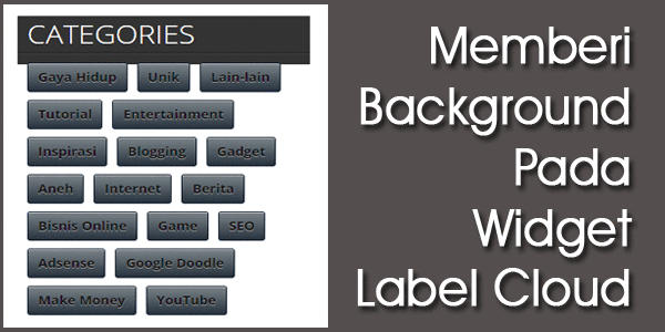 Background Pada Widget Label Cloud