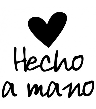 HECHO A MANO!
