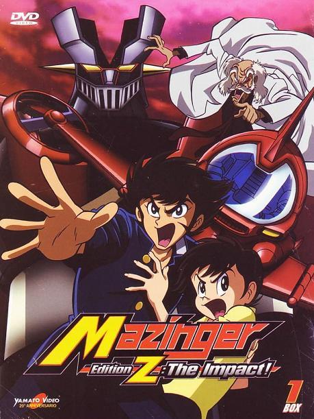 mazinger edition z the impact sequel