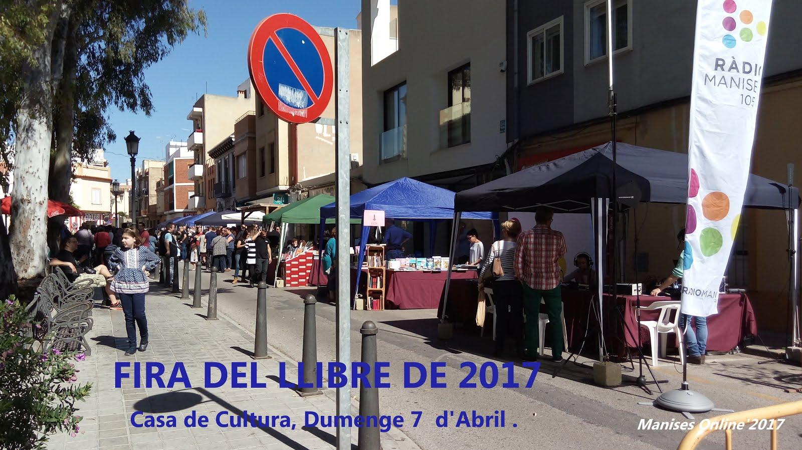 07.05.17 FIRA DEL LLIBRE DE MANISES EN LA C D CULTURA