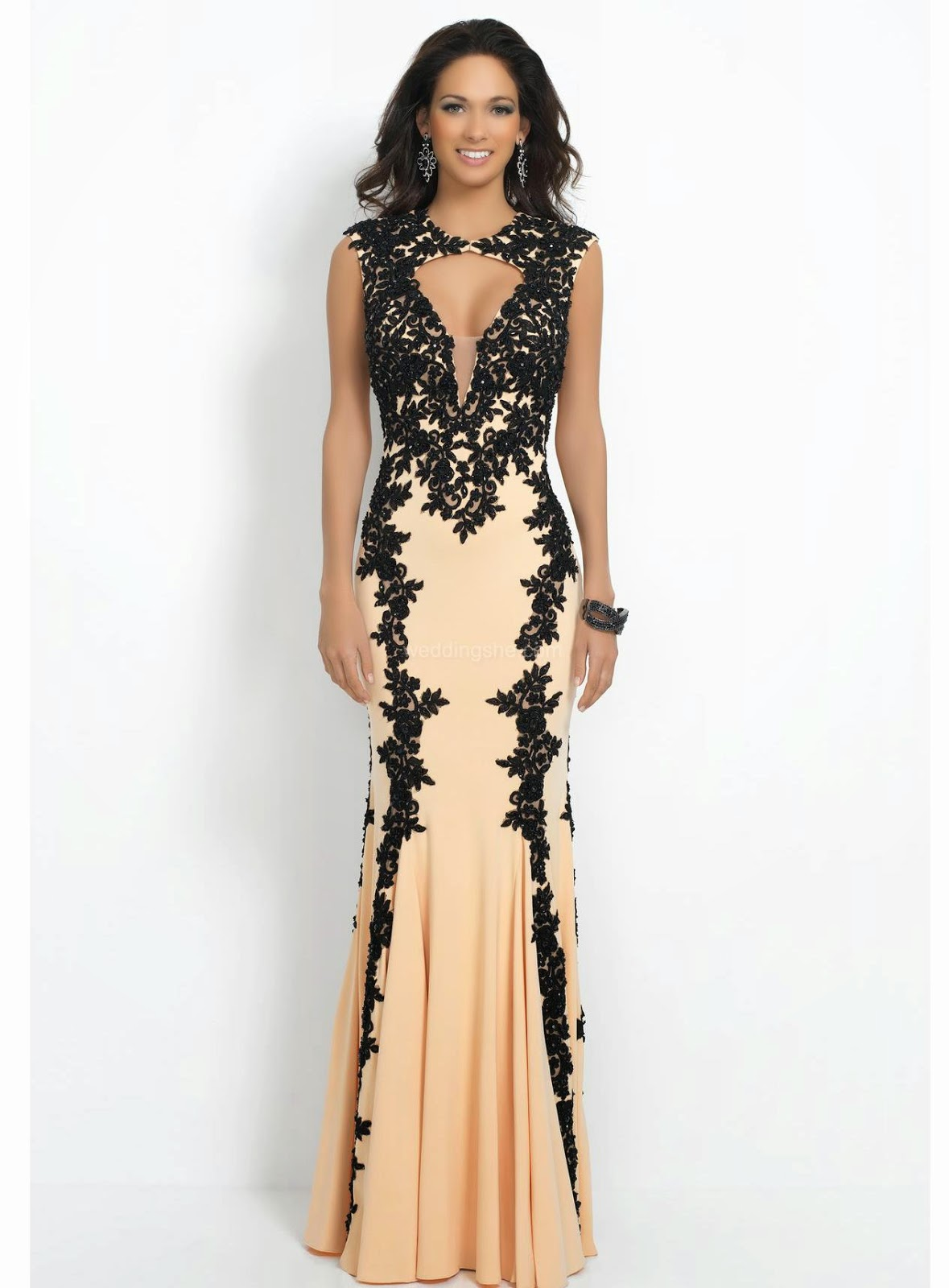 Rock chick evening dresses