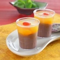 Resep Puding Coklat Buah