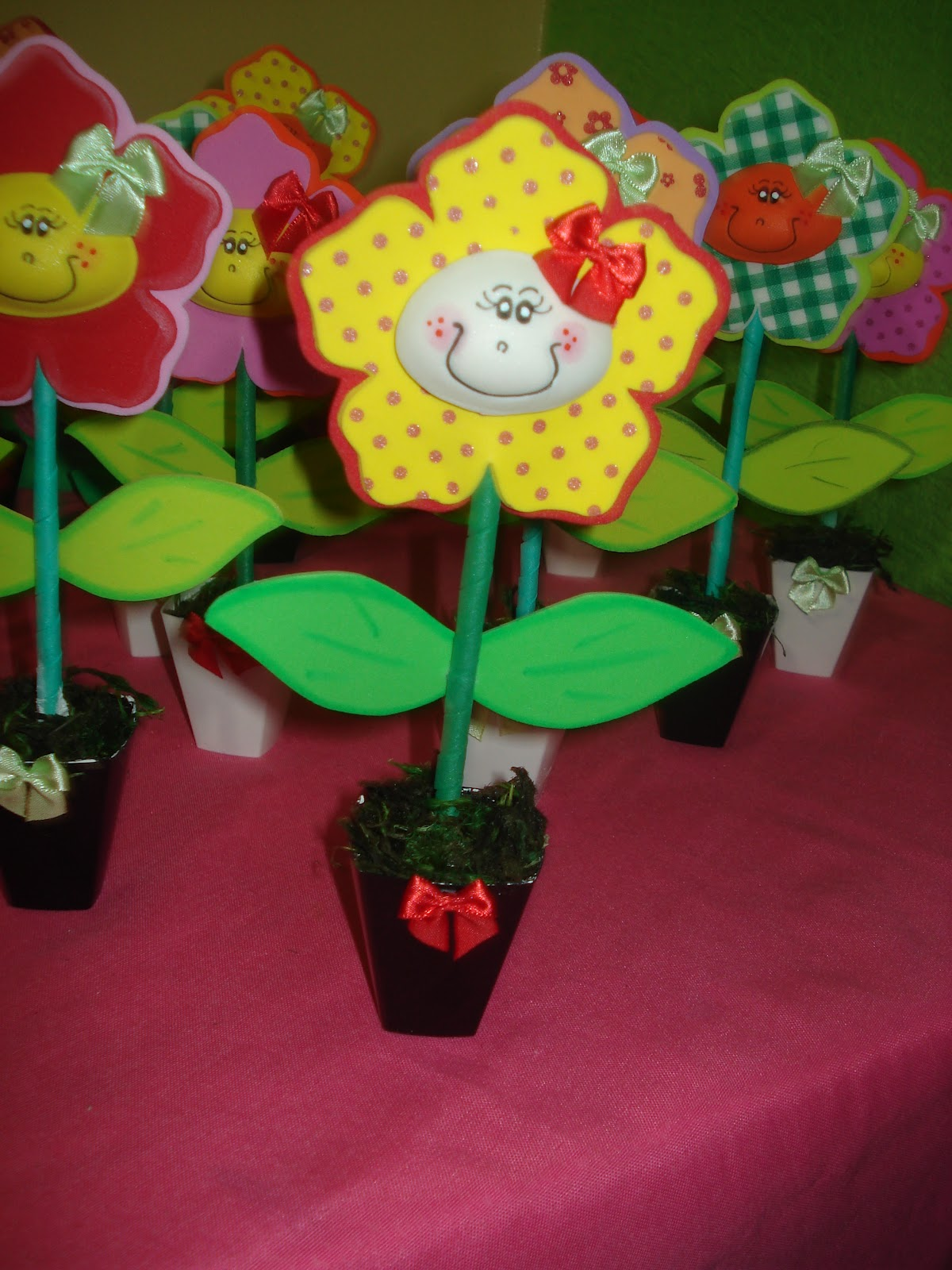 Ateliê Fabiane Gontijo Centros de mesa Jardim encantado!!!
