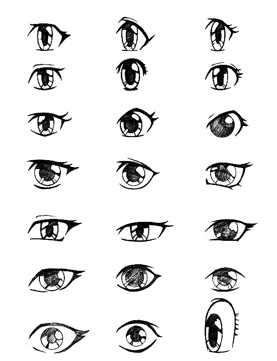 ... howtodraw.in/step-by-step-drawing-lesson-how-to-draw-a-manga-eyes.html