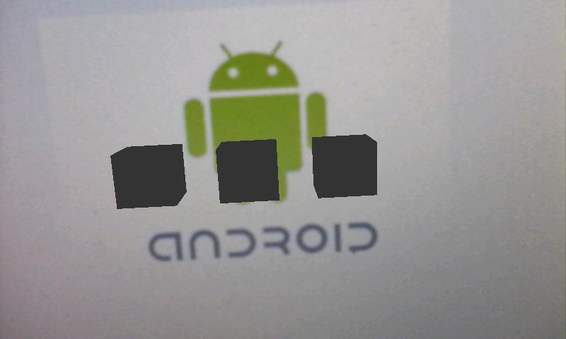 Hasil Aplikasi Basic Android Augmented Reality di Unity dan Vuforia