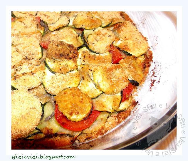contorno light - verdure gratinate al forno - e un pò di dieta ..