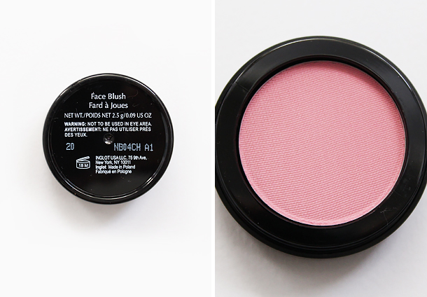 inglot 20 powder blush review swatch