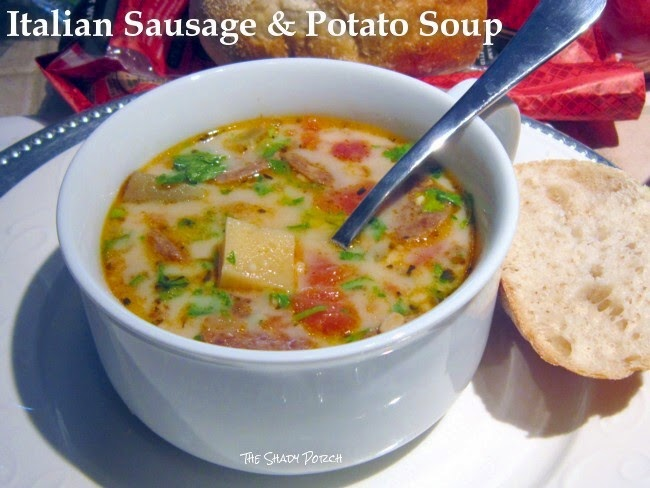 Italian Sausage & Potato Soup: Slow Cooker