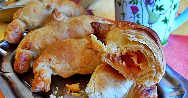 Ma cuisine v g talienne petits croissants feuillet s aux for Amande cuisine bjorg
