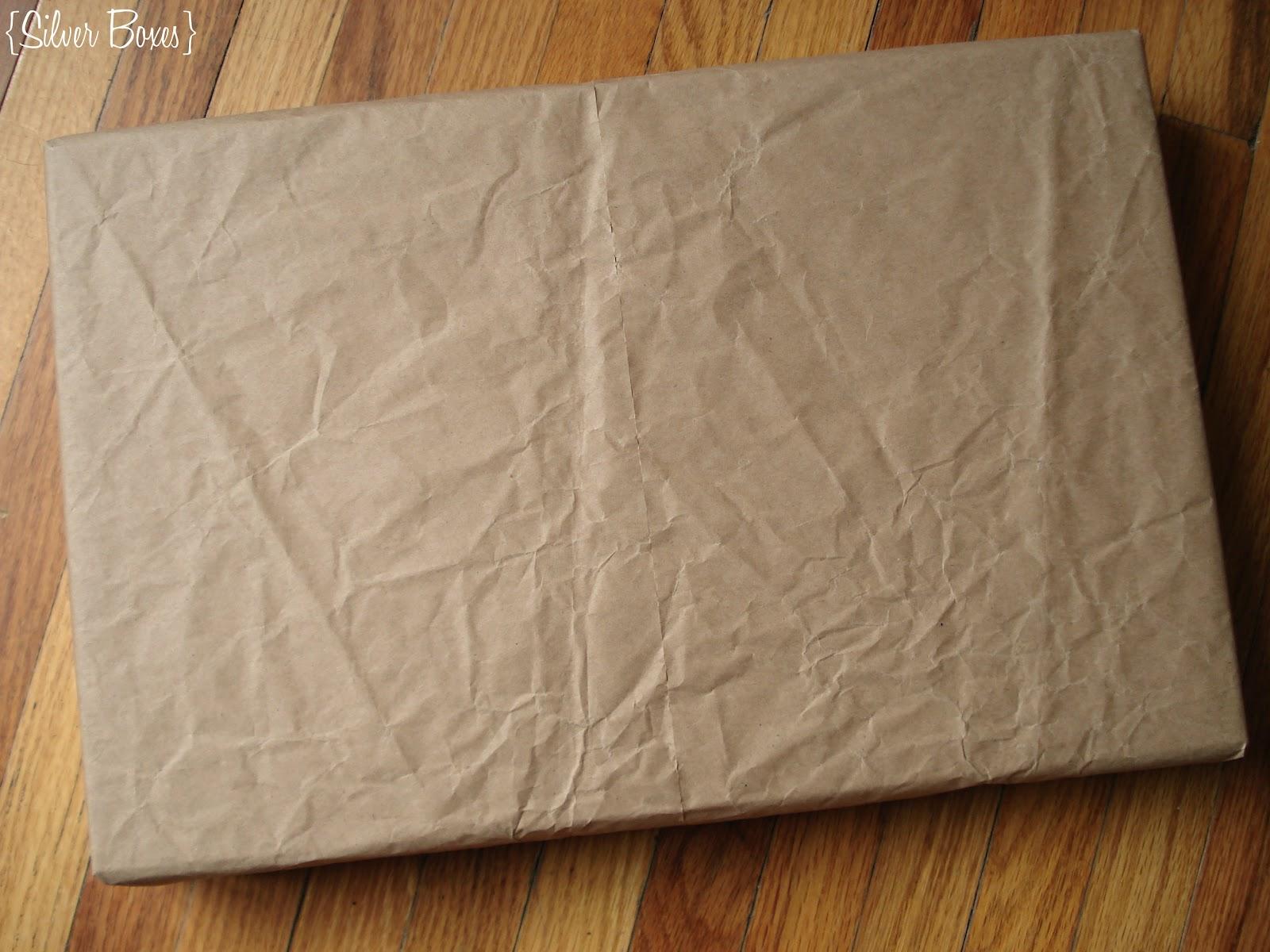 brown tissue paper