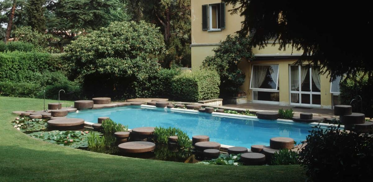 L\' Uomo e il Paesaggio: Villa la Terrazza Firenze