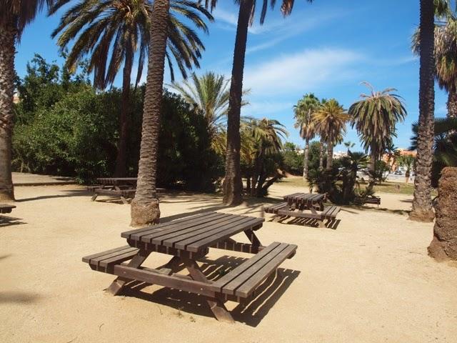 SOM DE PÍCNIC: Zona de pícnic Parc Palmar, Premià de Mar, Maresme