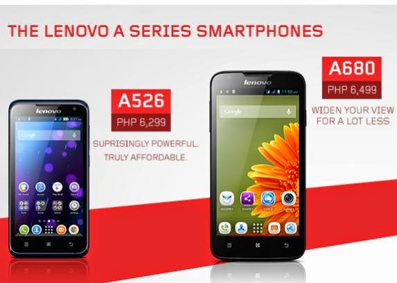 Lenovo A316i, A526, A680, A859 Android Phones Price and Specs : GbSb ...