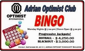 ADRIAN OPTIMIST CLUB