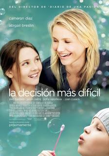 Poster de  La Decision Mas Dificil / My Sister's Keeper