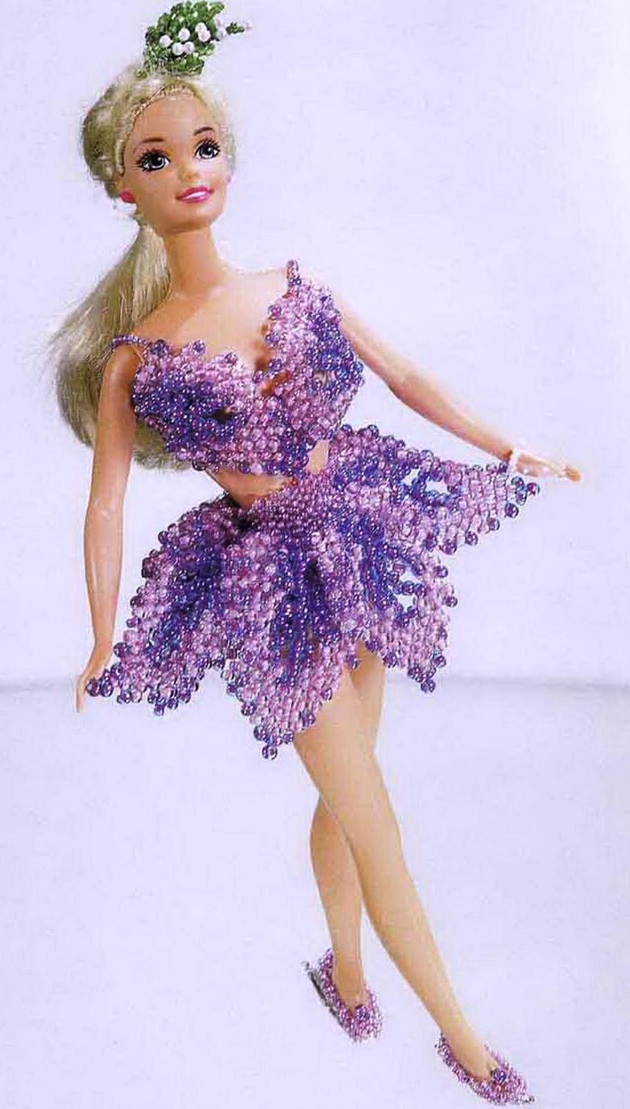 Как сделать куклу из бисеров