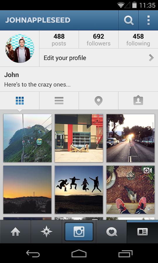 Instagram Android Apk Uygulama resimi