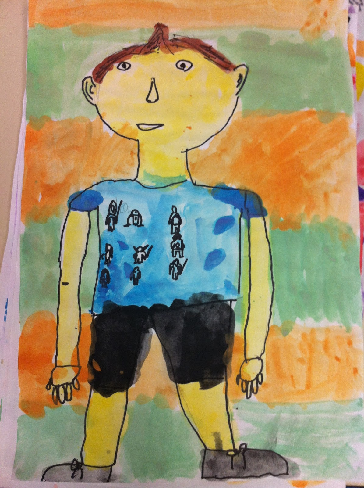 Classroom Ideas Grade 5 ~ Apex elementary art first grade self portraits