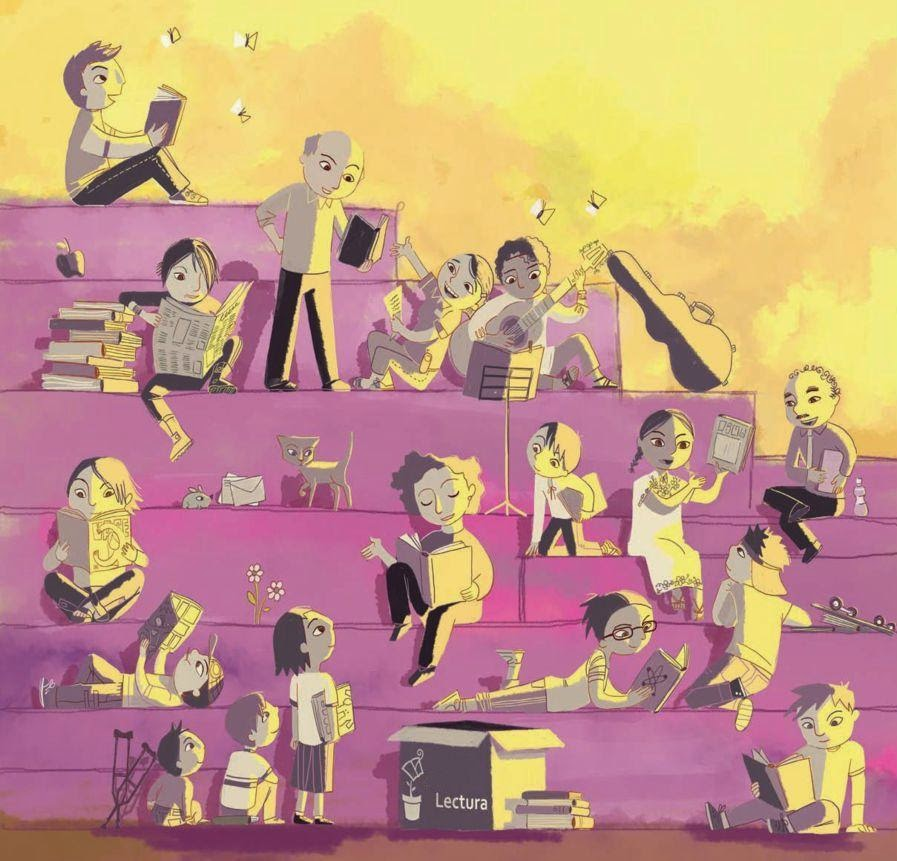 Ilustración: Ana Teresa Martínez  para CONACULTA. MEXICO