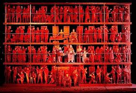 Enescu's Oedipe at Teatro Colon,  directed La Fura del Baus (photo Teatro Colon)