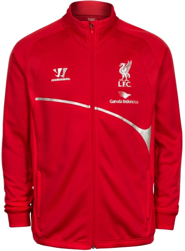 Merchandise Liverpool (Online Store) Jual Jaket Liverpool Training Garuda Red Warrior  Indonesia 2015