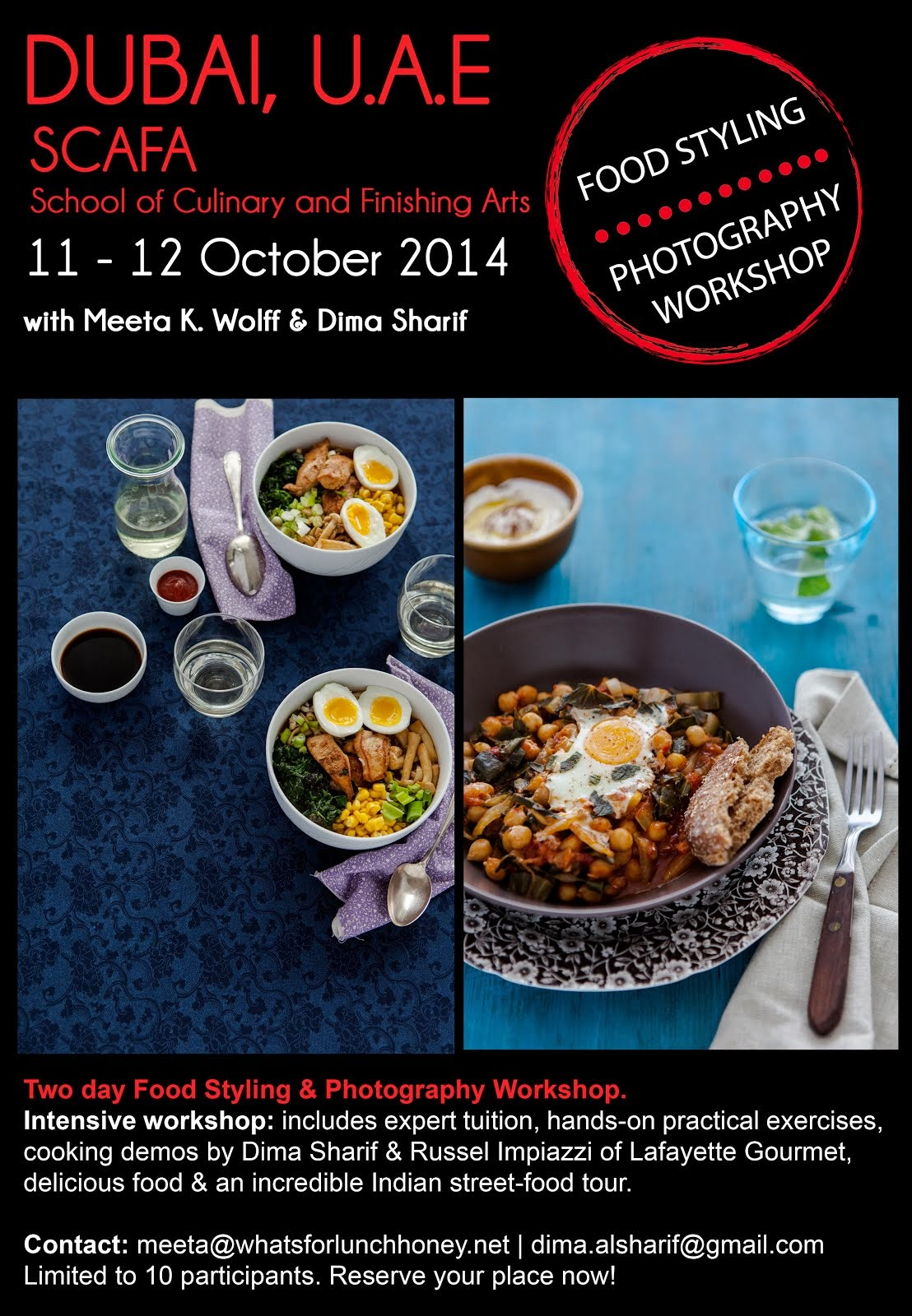 Food Styling & Photography Workshop 2014 - Dubai