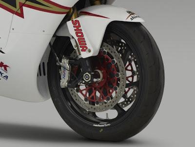 Superbike eletrica Shinden Mugen
