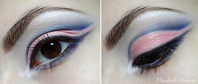pastel lavender lilac makeup