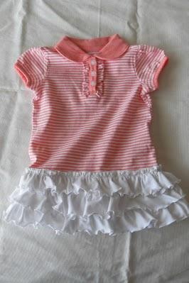 Vestido facil para bebes