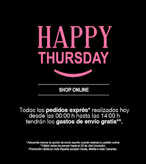 HAPPY THURSDAY EN STRADIVARIUS