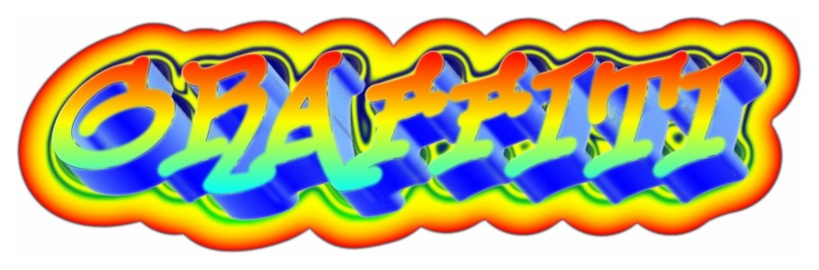 Picture to People: The 3D graffiti text maker online was ...